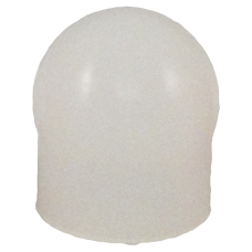 Silicone gel beschermkapje wit